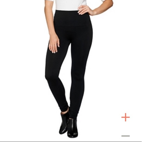 bd25ddf4e NEW Spanx Look at Me Now Leggings Very Black